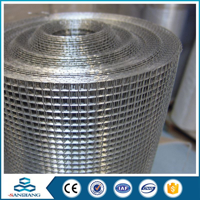 4x4 galvanized welded wire mesh factory