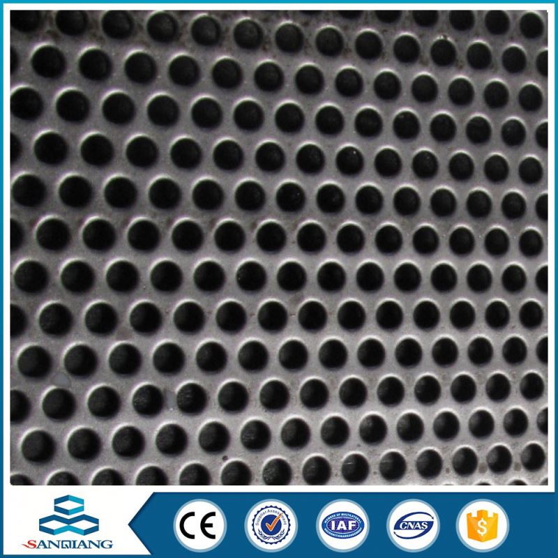 round hole bottom price building facade perforated metal sheet mesh