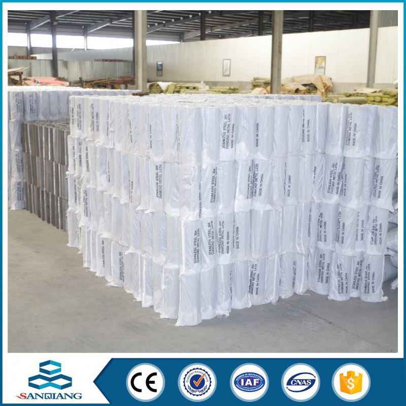 High Turbidity china factory supply diomand battery cells expanded metal mesh