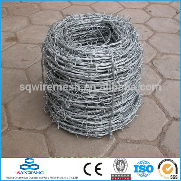 Metal barbed wire fence(Anping)