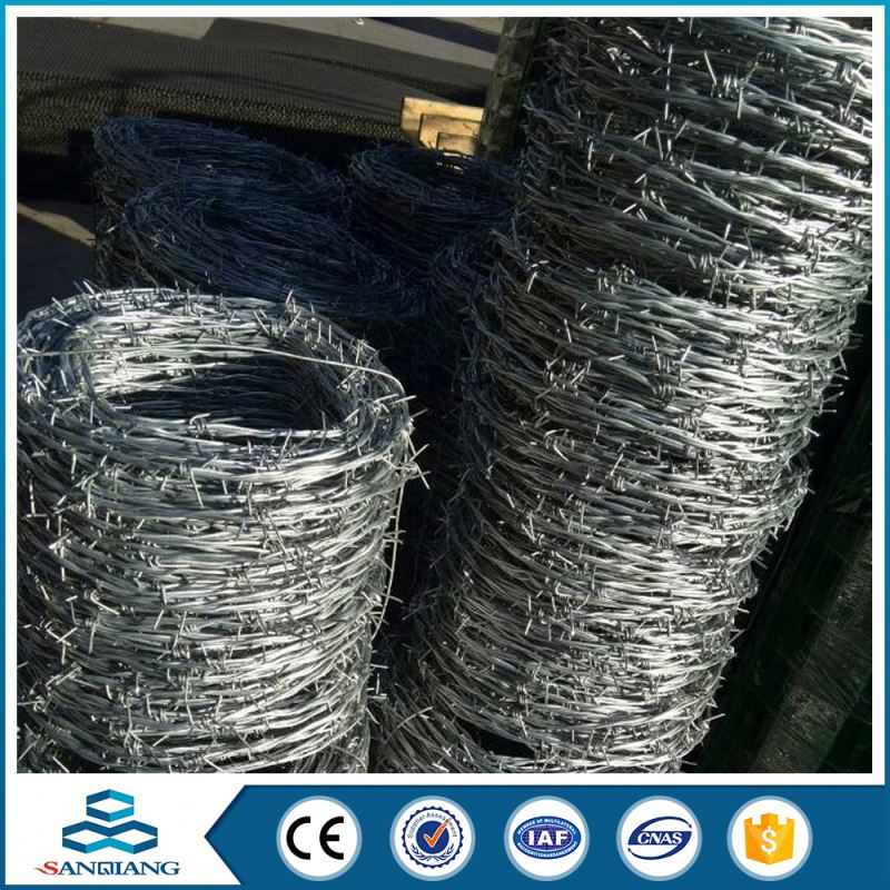 crossed galvanized bto22 razor barbed wire