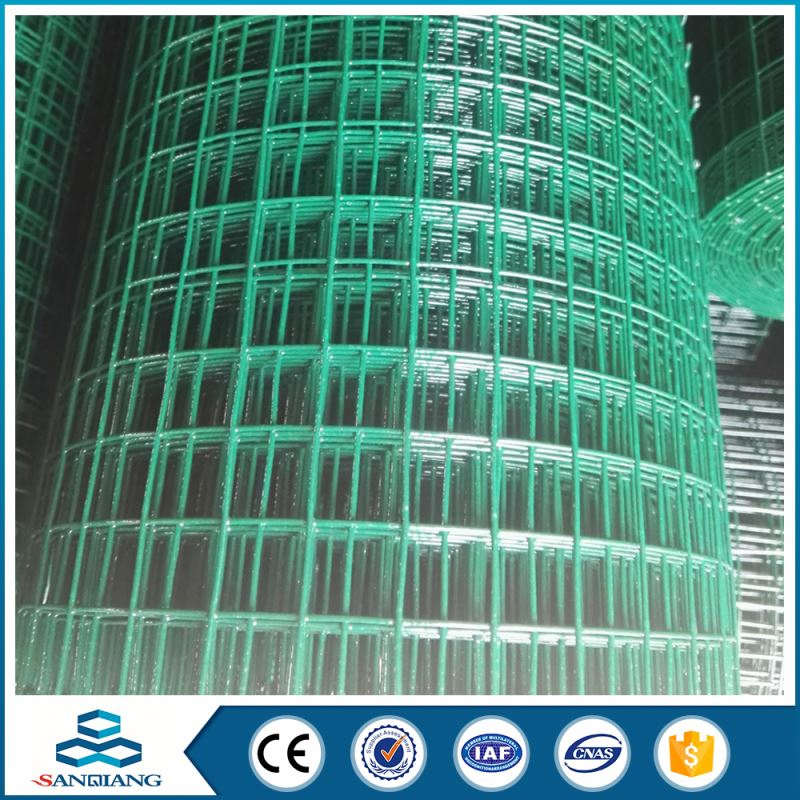 best selling green welded wire mesh shelving roll