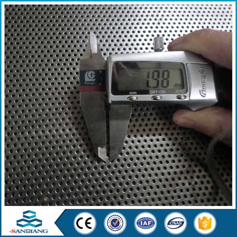 stylish design triangular perforated metal sheet mesh for infrared heater