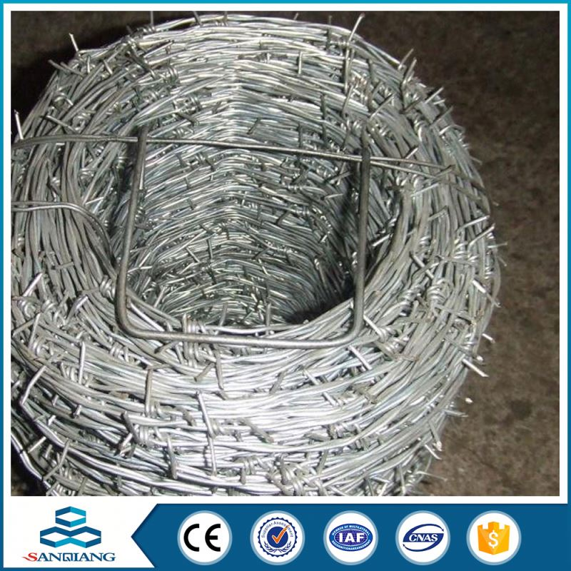 factory price china supply pvc blade barbed wire price per roll