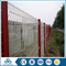 competitive price 3d bending galvanized angled top fence post