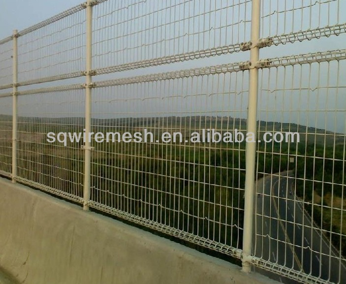 pvc coated double circle wire fence(factory manufacture)