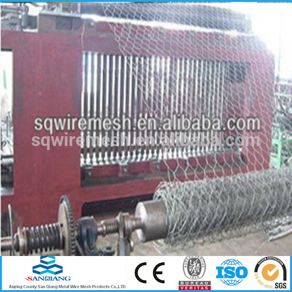 Electro before weaving Hexagnal Wire Mesh