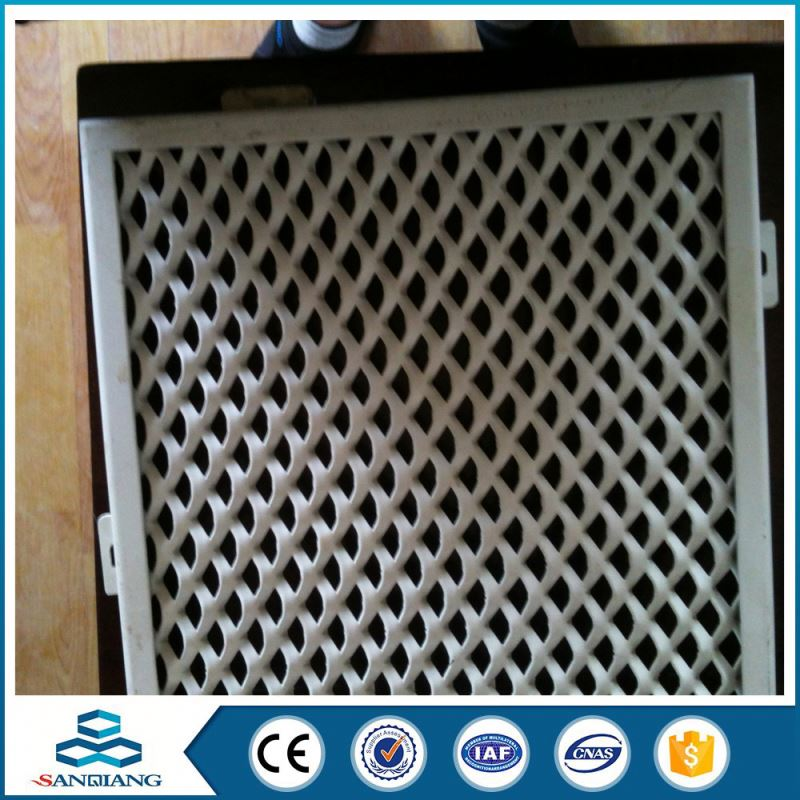 High Efficiency 5x10 iron hexagonal pattern best quality expanded metal mesh price