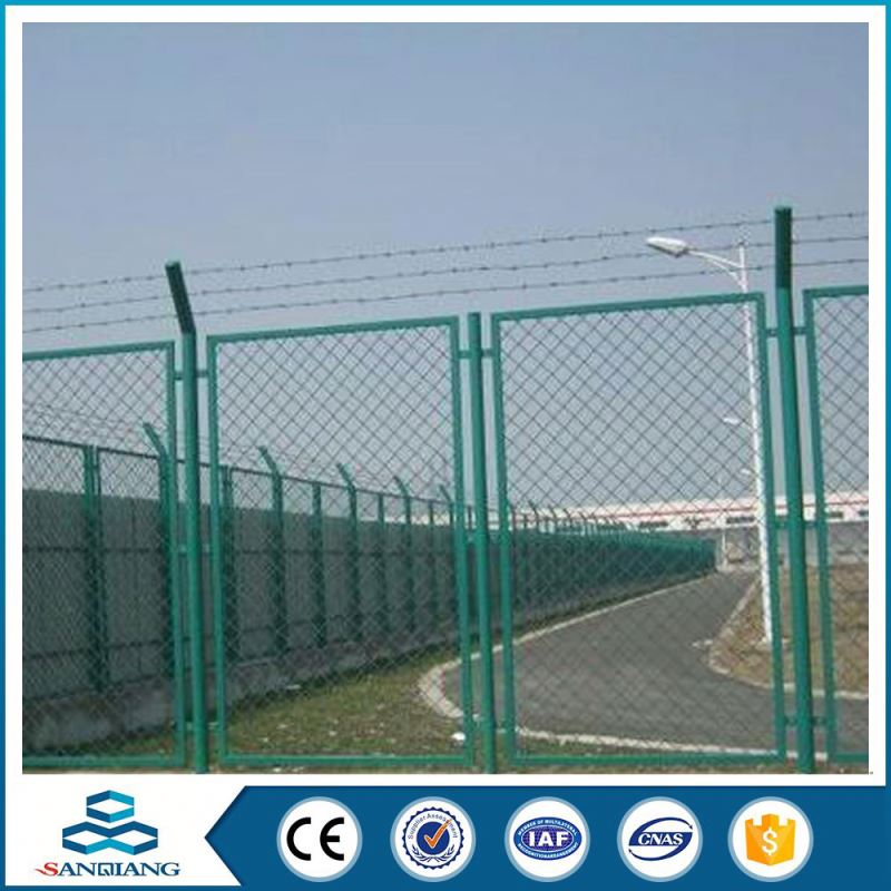 anping factory supply high quality hot sale concertina pvc coated barbed wire