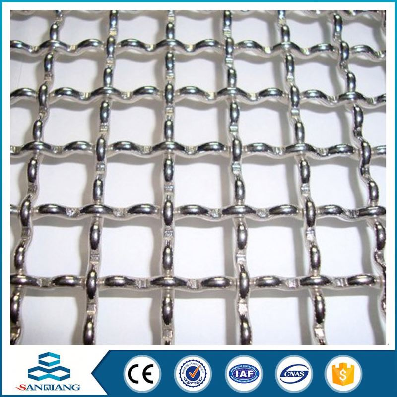 2016 Customerized stainless steel crimped wire mesh manufacturer