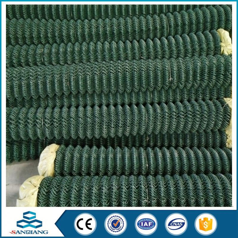 4.0mm garden used pvc coated chain link fence
