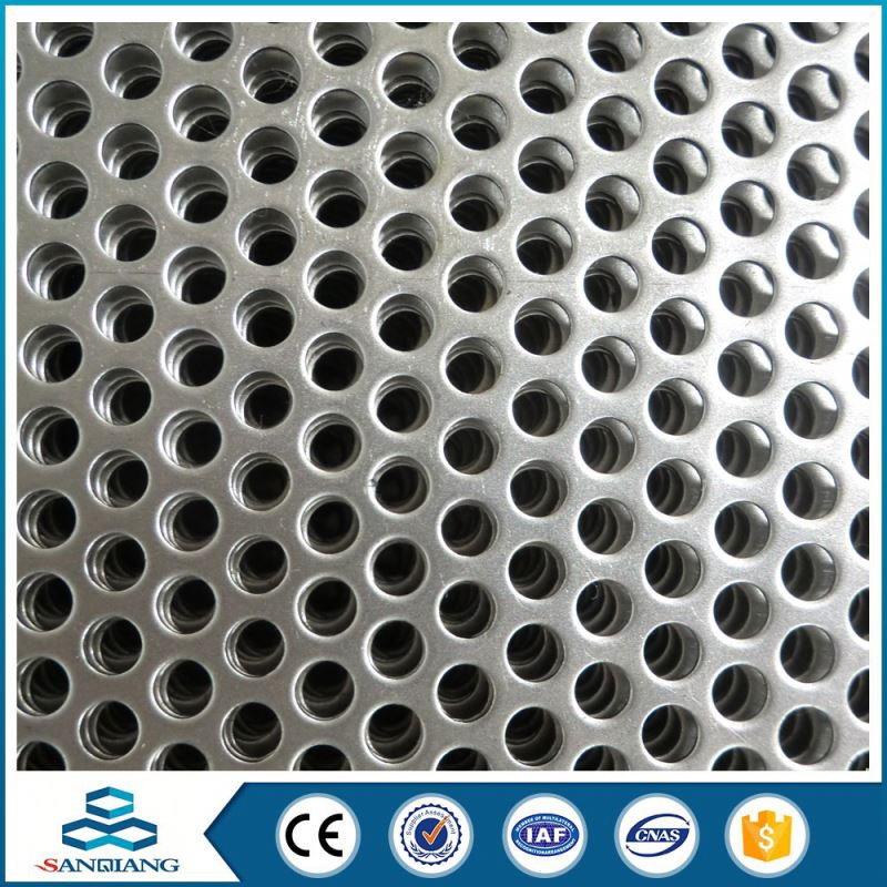 cheap factory hexagonal unusual hole perforated metal mesh from hebei anping