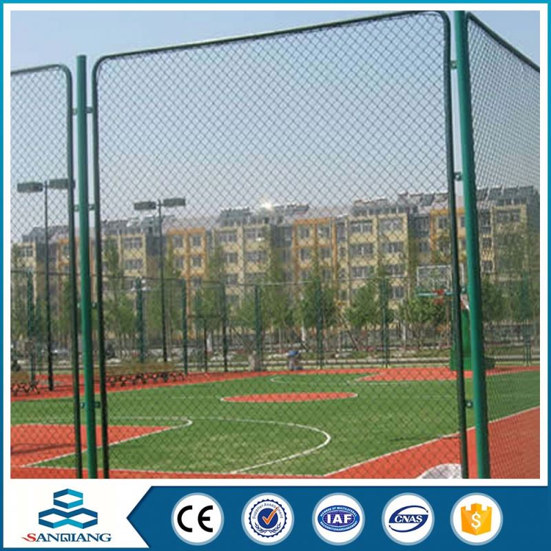 iso9001 galvanized good quality chain link fence