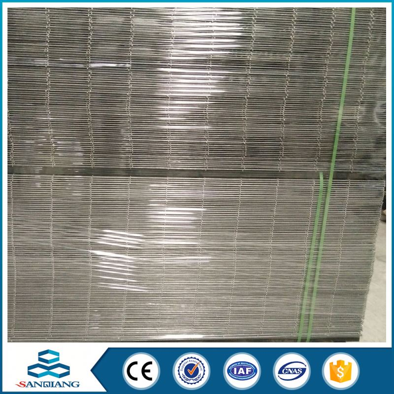 1.2mm pvc coated dark green 5x20 welded wire mesh panel for fence