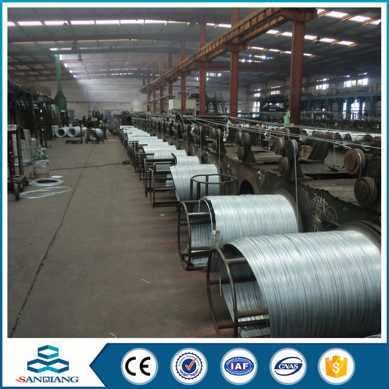 soft annealed pvc coated black iron wire with factory price