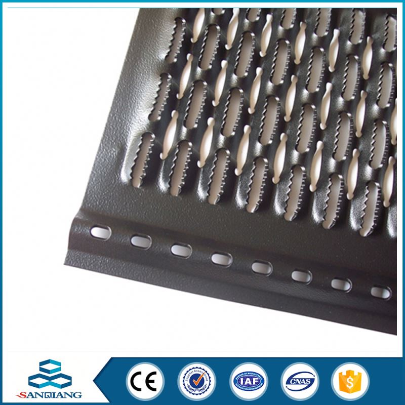 cheap stylish irregular lowes perforated metal mesh for silencer