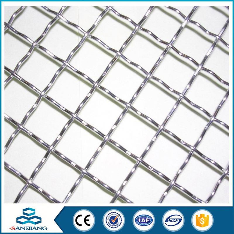 Best Selling Products wire grid galvanized crimped mesh