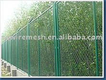 garden fenencing net /metal plate mesh fence /expanded metal mesh fence