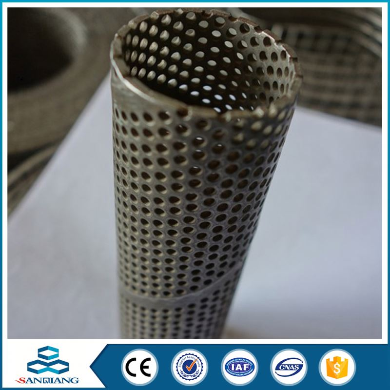good quality steel 304 perforated metal mesh sheet anping factory