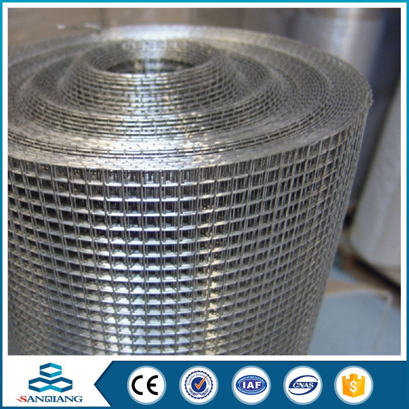 "1/4"" mesh 6x6m 10/10 panel pvc coated welded wire mesh"