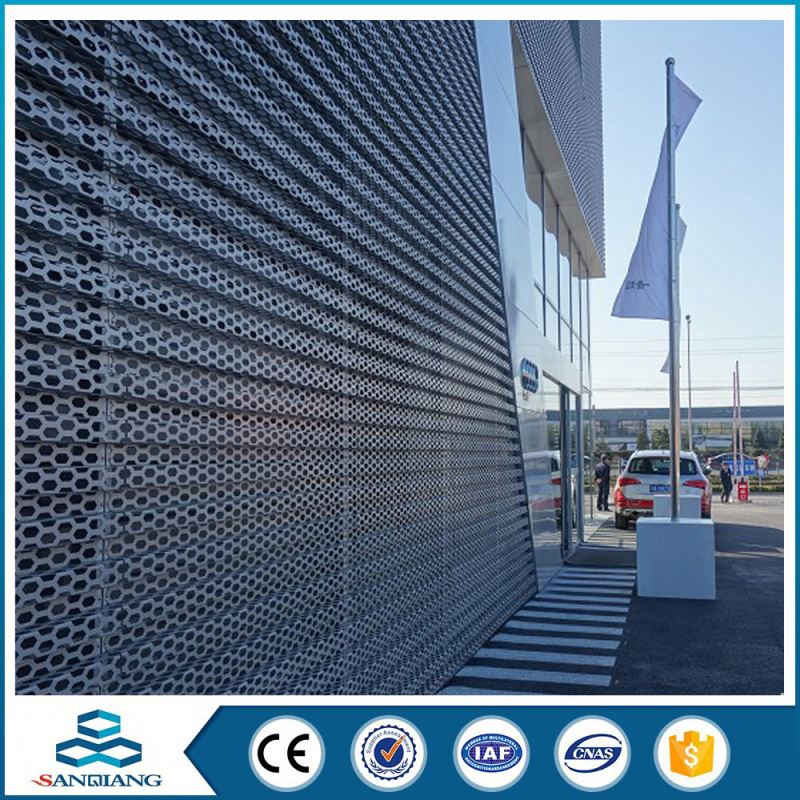 gas turbines perforated metal sheet mesh roll