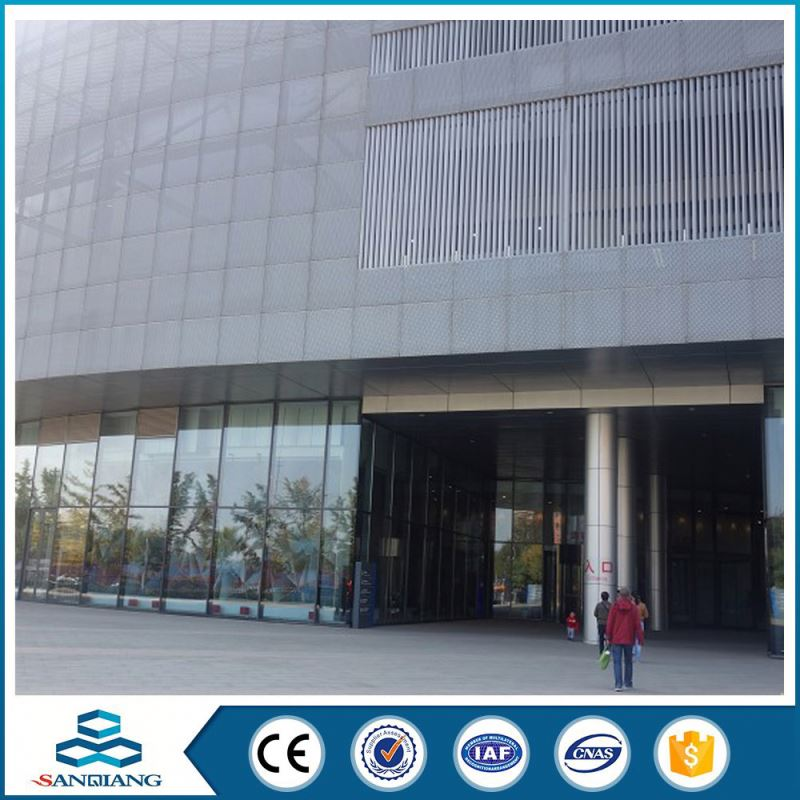 china manufacture super quality 3mm hole perforated metal sheet mesh