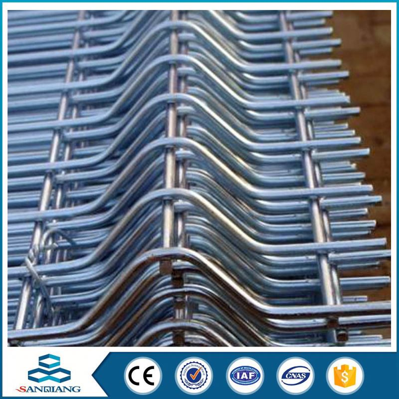 china factory cheap double wire anti climb galvanized fence price