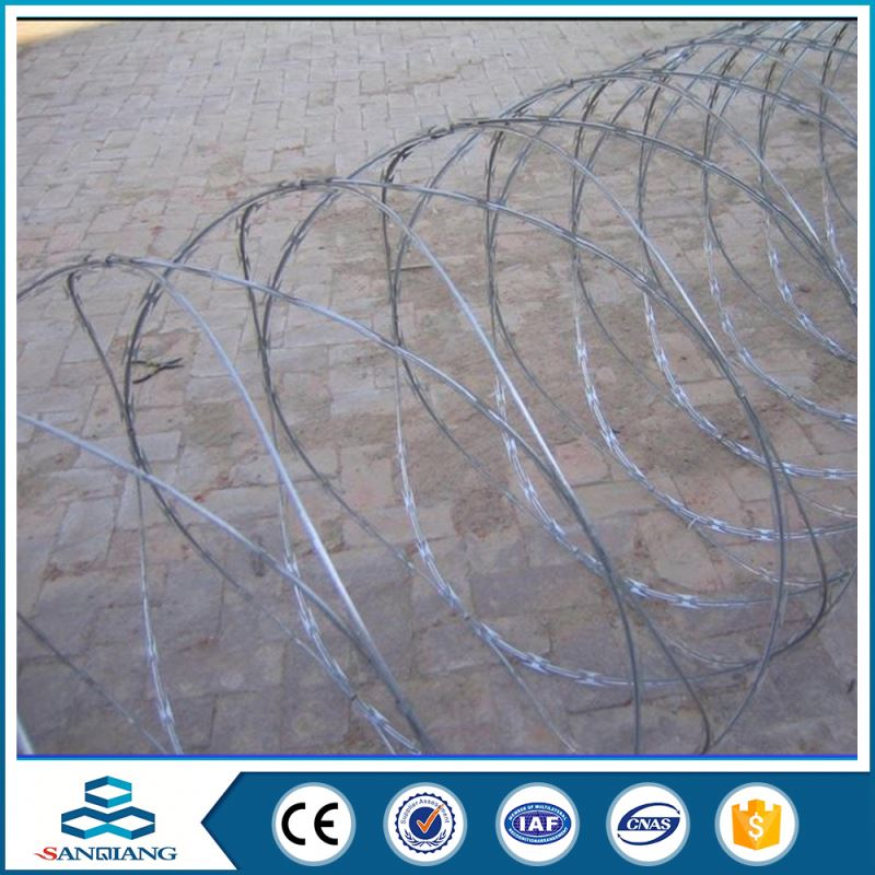 Alibaba China Supplier cutting razor wire fence for sale