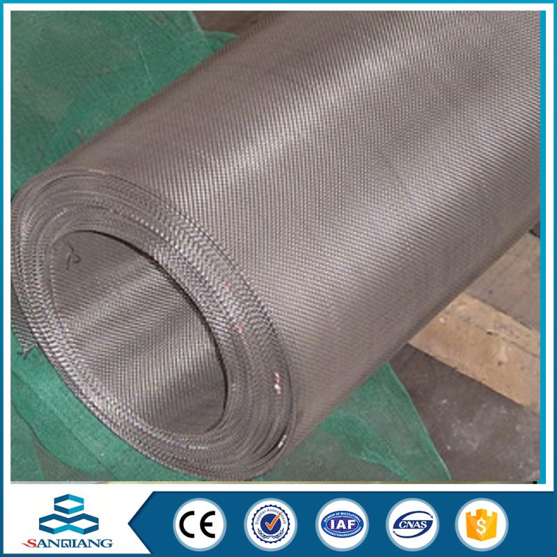 Factory Big Scale High Class 200 micron 0.5mm stainless steel sieve screen mesh