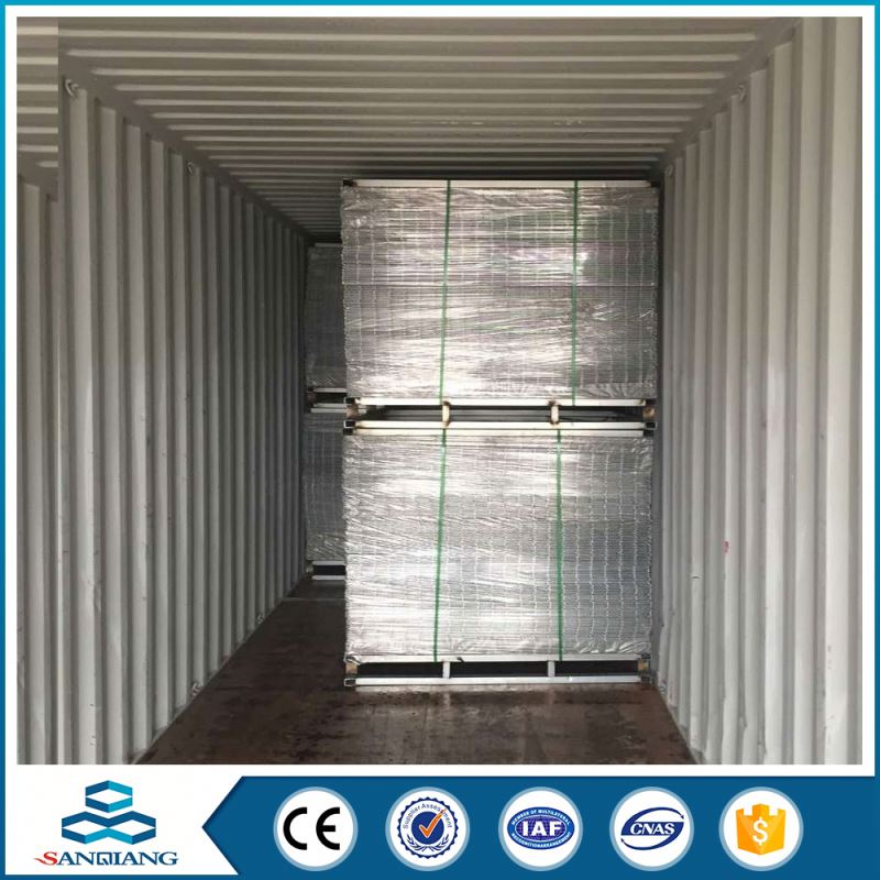 anti-climb 3x3 galvanized welded wire mesh panel for sale