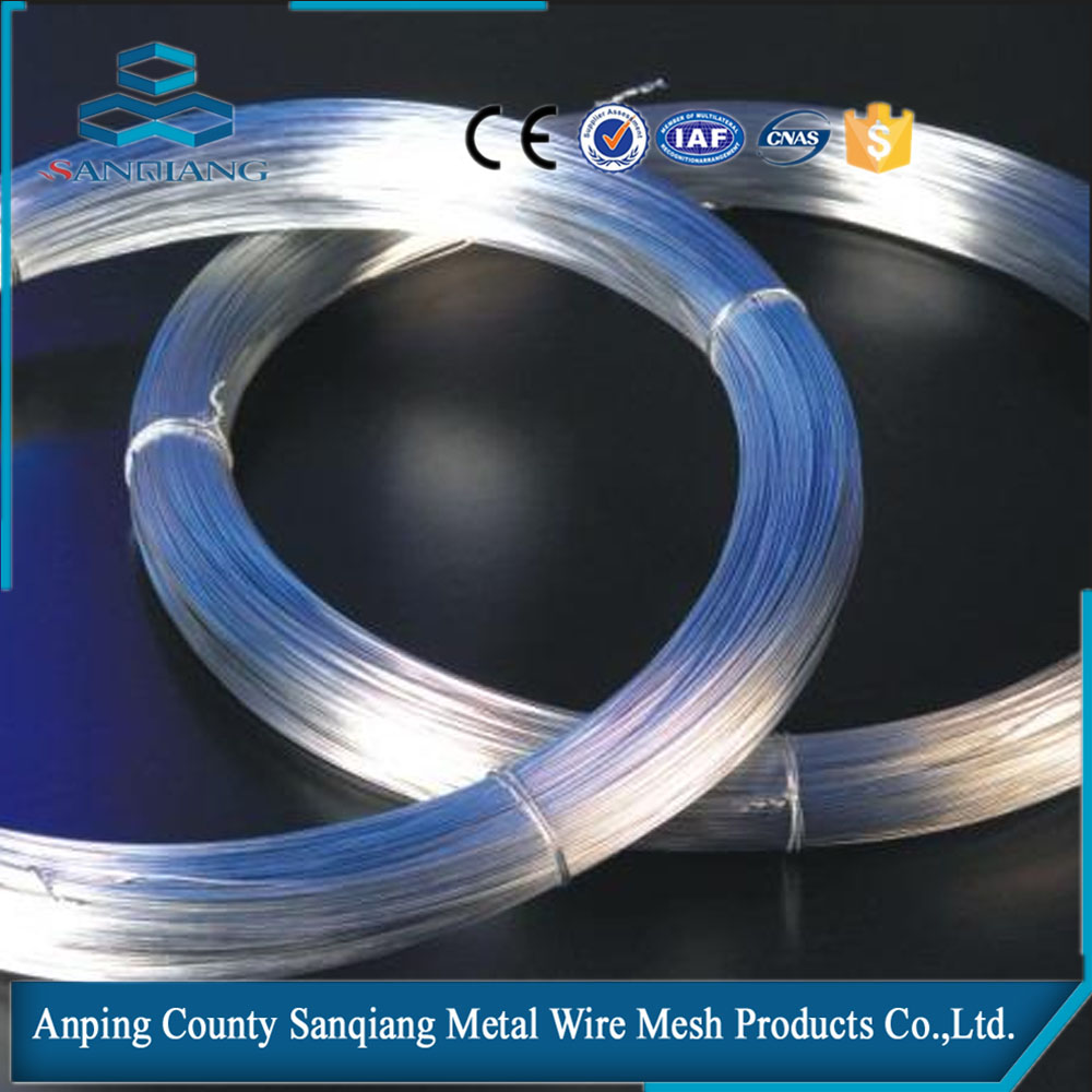 Gauge 14 galvanized steel wire for nail making