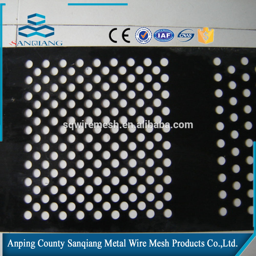 Anping manufacture perforated wire mesh-SQ