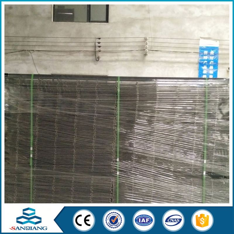 bwg10 green pvc coated 3x3 galvanized welded wire mesh panel retail