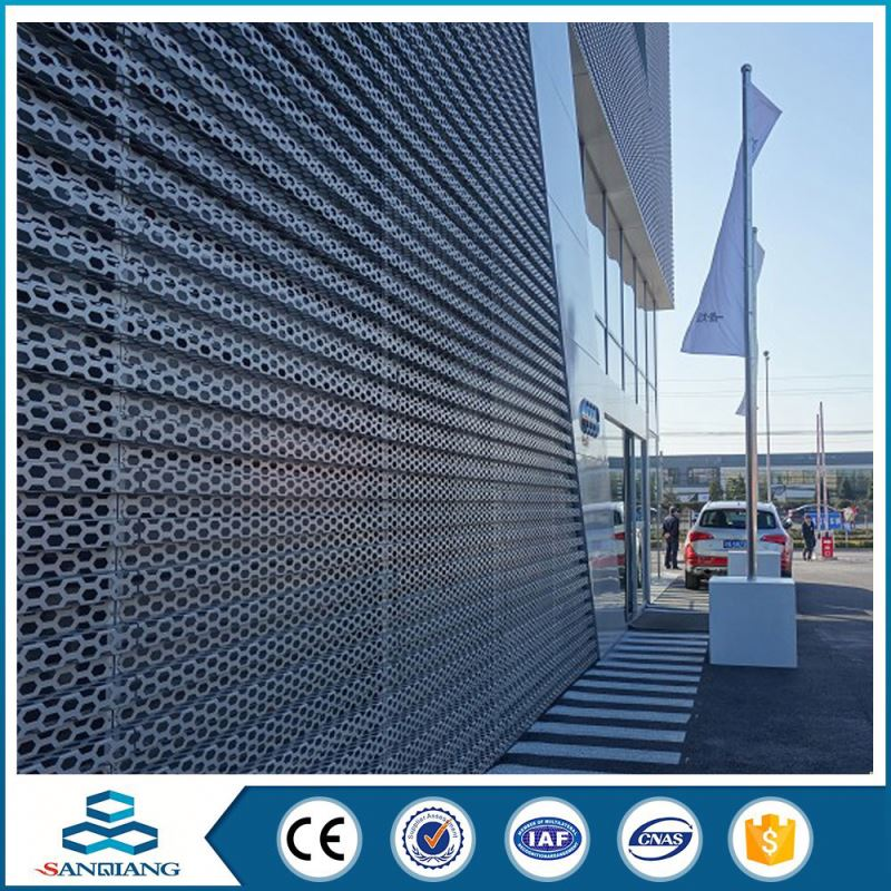 excellent appearance perforated metal sheet mesh real factory