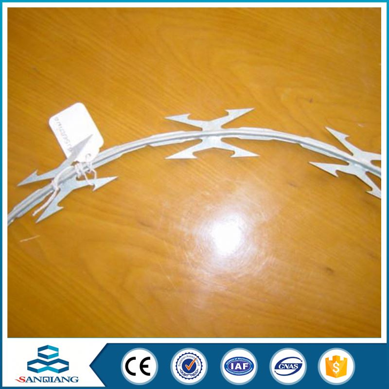 2016 Hot Selling razor barbed wire philippines making machine