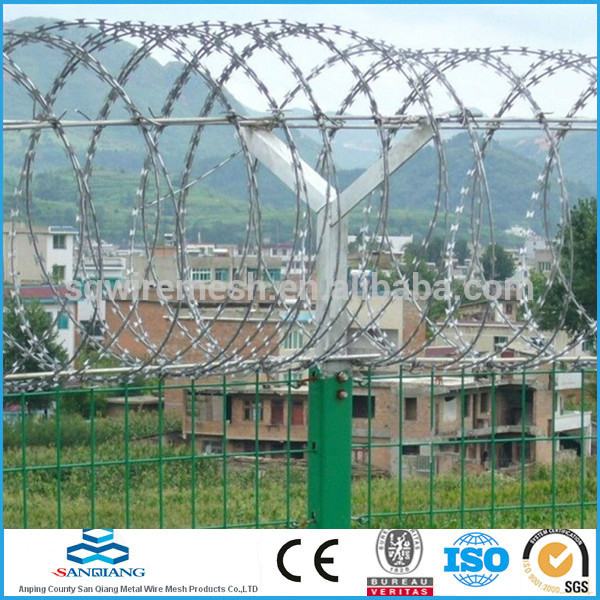 1.0-3.5mm 12*12 barbed wire fence(Anping)