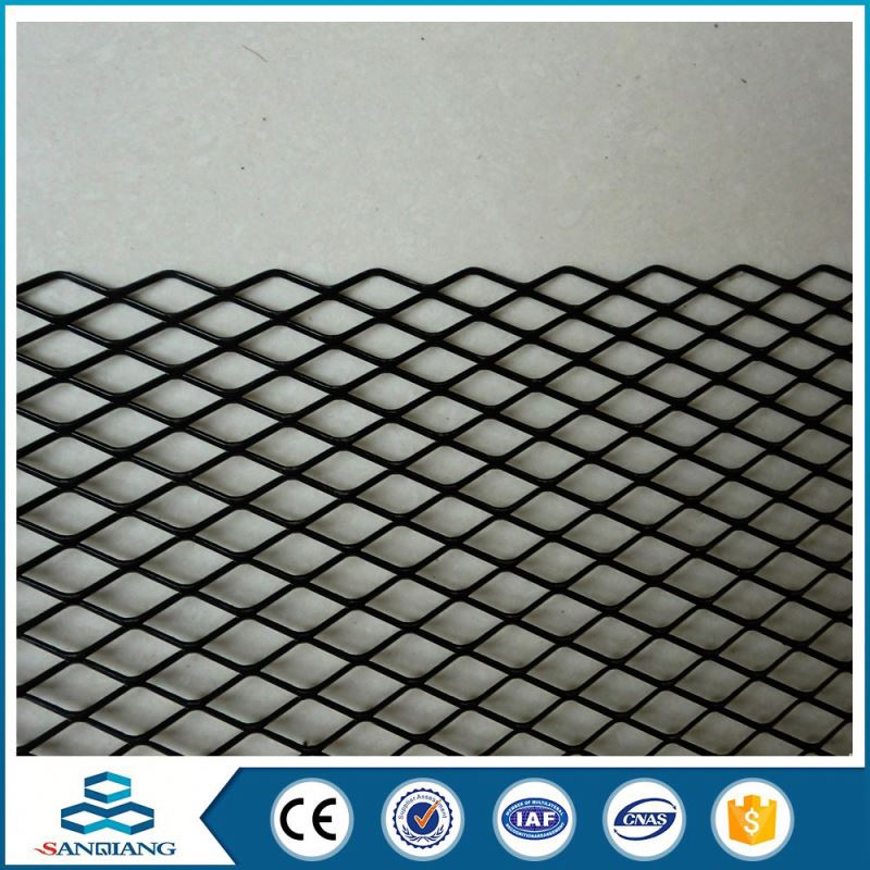 Fashion Hot sell Colorful cooper plate black expanded metal mesh price