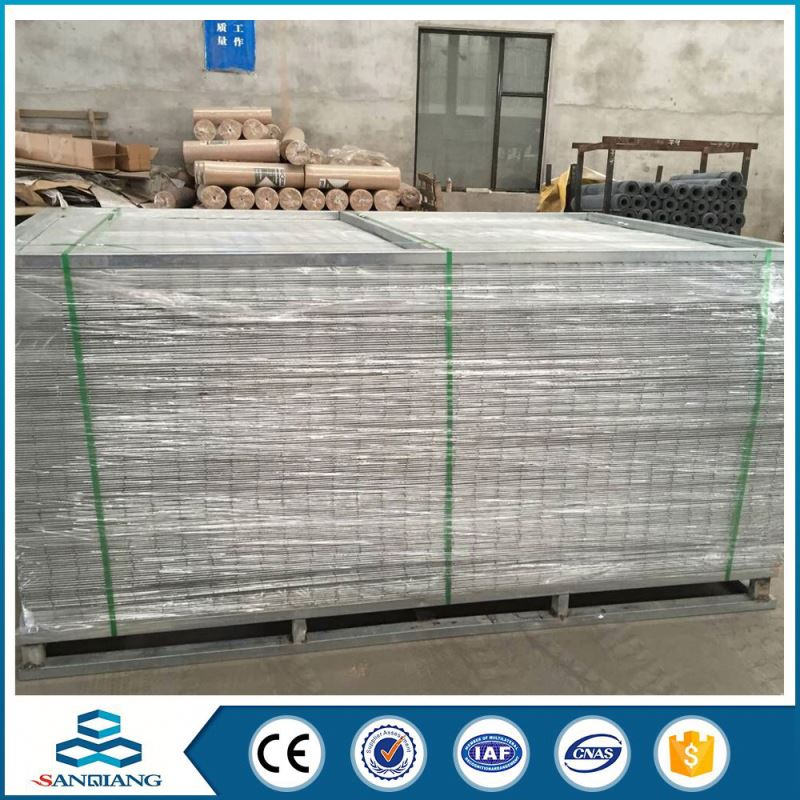lowest price 3d galvanized iron welded wire mesh panel in anping