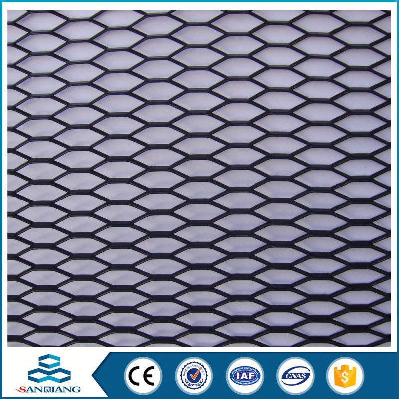 hafnium small hole flattened expanded metal mesh in ss 304