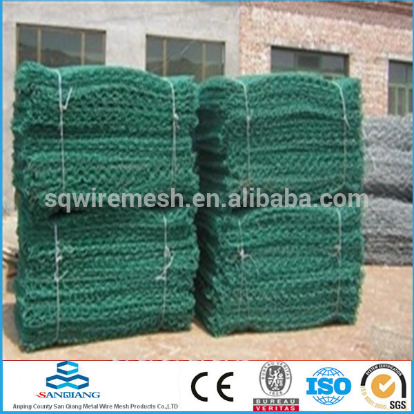 2.0-4.0mm Anping galvanized gabion boxes(professional manufacture)