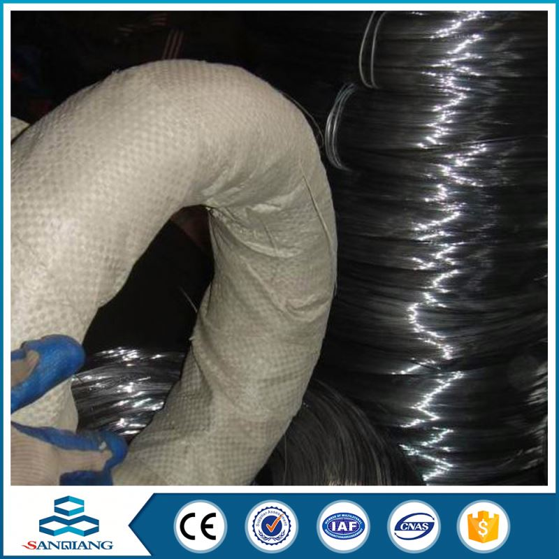 various types of galvanized annealed black iron wire supplier