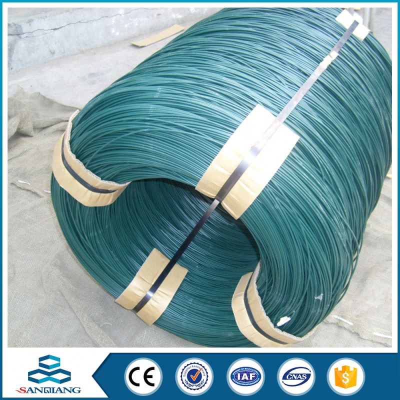 electric cheap black galvanized pvc coated iron wire