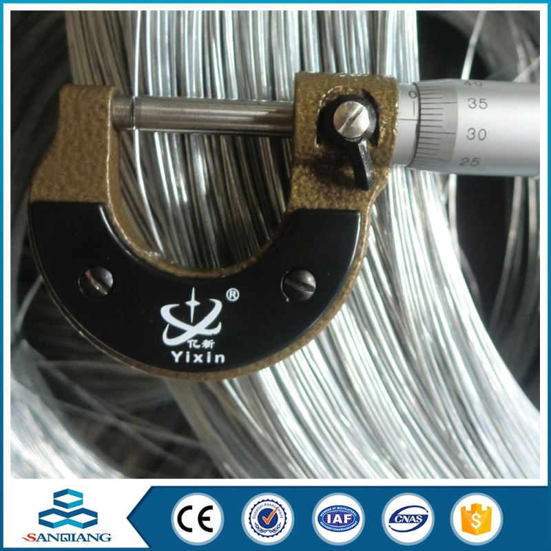 bwg 22 electro galvanized iron wire for binding wire