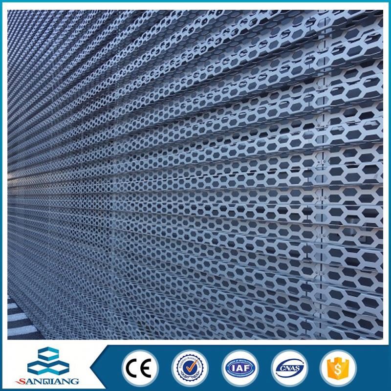 stainless steel galvanized perforated sheet metal mesh sheet plate