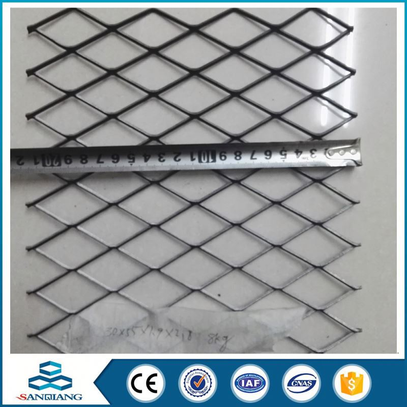 High Performance cheapest power coated diamond-hexagonal pattern expanded metal mesh