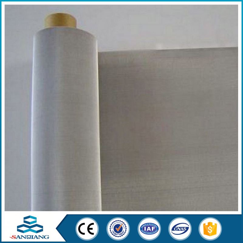Excellent Sale Reliable Quality price quality plain woven stainless steel wire mesh screen