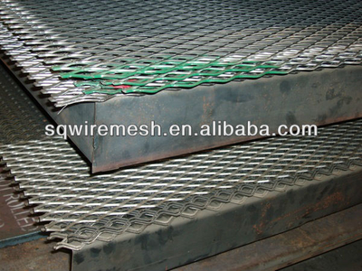 Flatted Expanded Metal Sheet