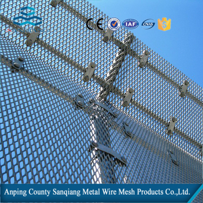 expanded metal sheet/as gratings, laths, screens, fences, filtration media and building decoration materials.(factory)