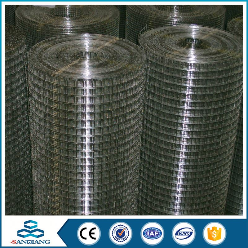 6 gauge best price welded wire mesh panel for bird aviary cage machine