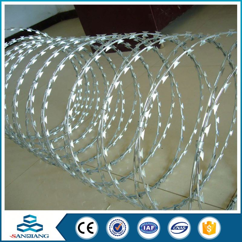 Best Selling Products razor with wires mesh ribbon fencing over blades